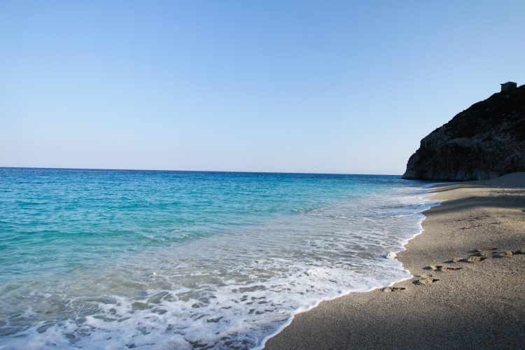Greece offers beautiful beaches for free time