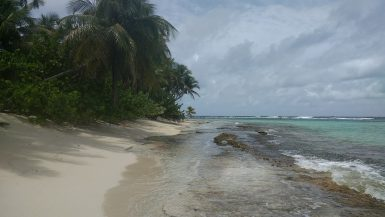 Beach on Sandy Island