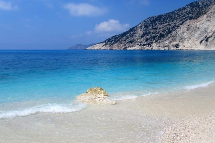 Beach in Argostoli, Greece