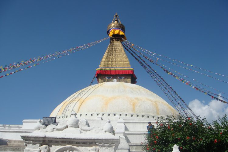 Boudha temple in Nepal