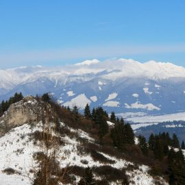 Carpathian Mountain range in Slovakia