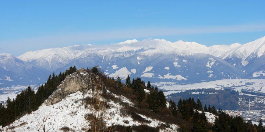 Carpathian Mountain range in Slovakia