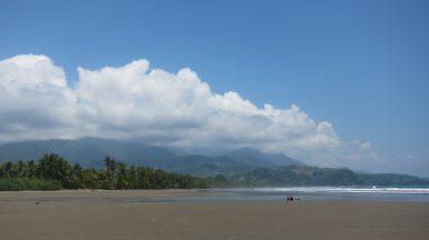 Beach at Playa Tortuga in Costa Rica