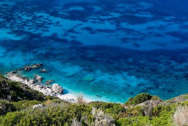 Turquoise waters at Lixouri