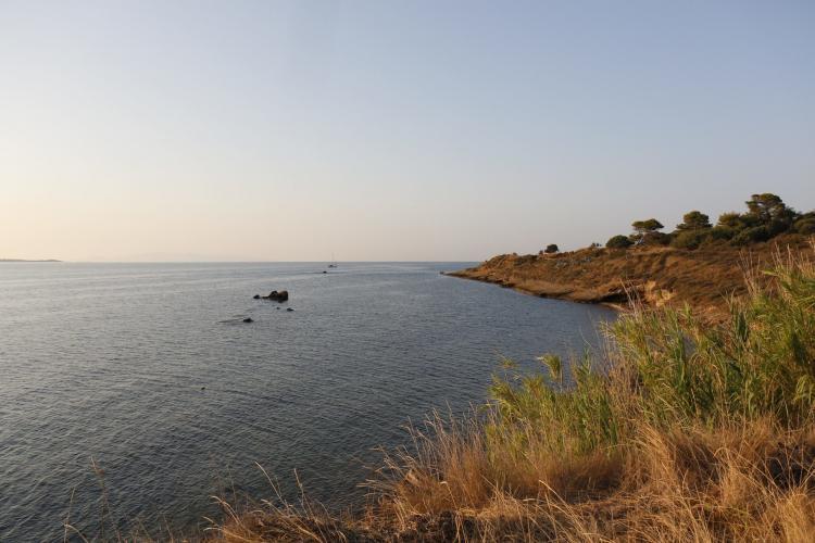Greece coastline at Lixouri