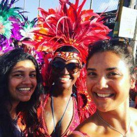 Volunteers at the Grenada Carnival