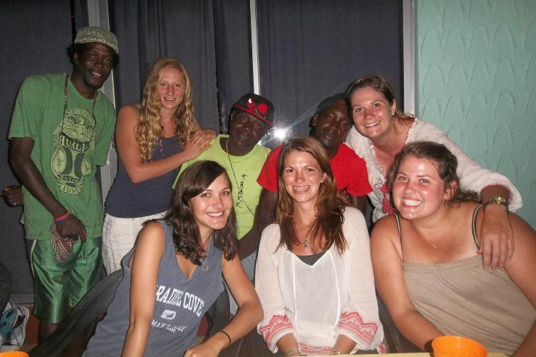 Group of volunteers in Grenada