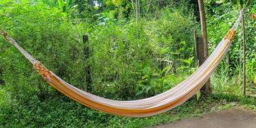 Hammock at volunteer house