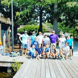 Cape fear river watch volunteer group