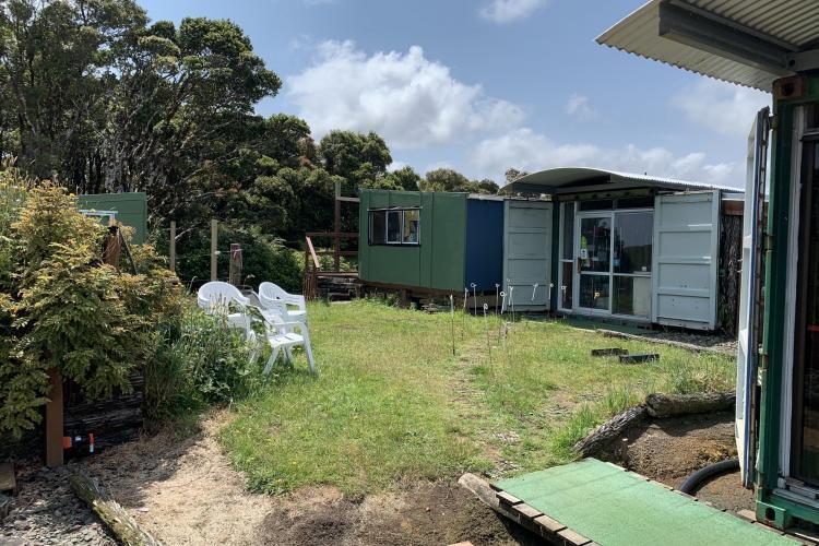 Kiwi sanctuary huts