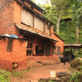 Nepalese village house