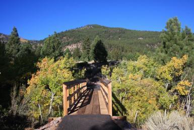 Nevada Galena Creek bridge over river