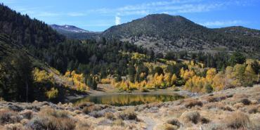 Galena Creek lake view