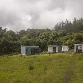 Accommodation at New Zealand nature sanctuary
