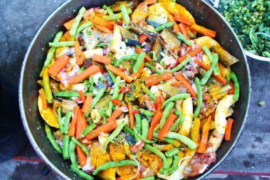 Oildown national dish of Grenada