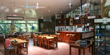 Dining room at Playa Tortuga