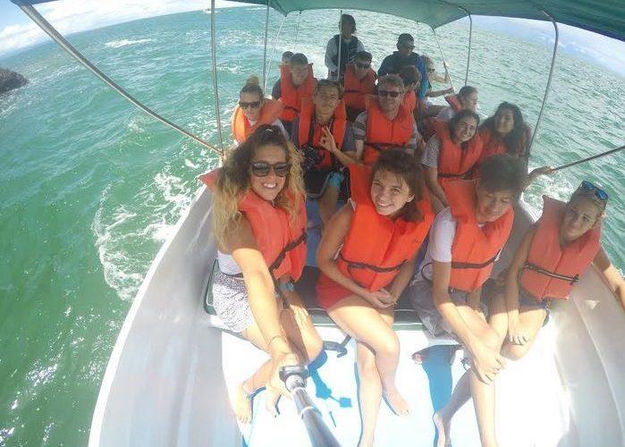 LOGS group at Playa Tortuga