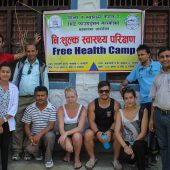 Rural Health Camp Volunteer, Nepal