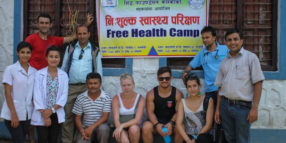 Medical camp in Nepal
