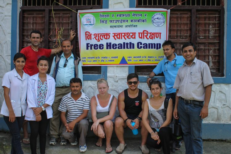 Medical camp in Nepal