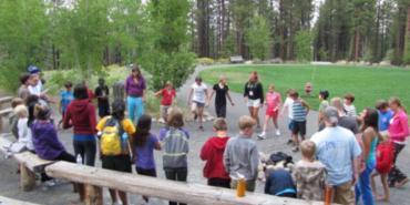 Training at Galena Creek