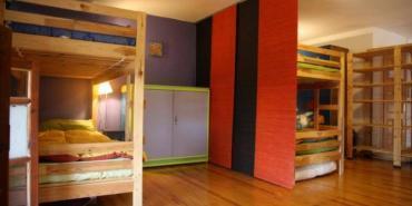 Volunteer bedroom in Greece