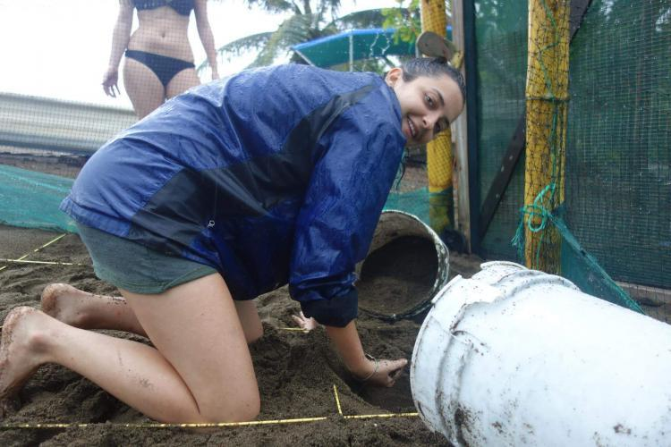 Volunteers at Playa Rincon