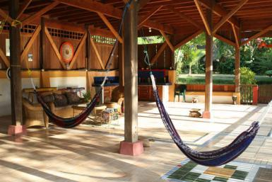 Hammocks in Playa Rincon