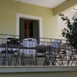 Balcony in Lixouri