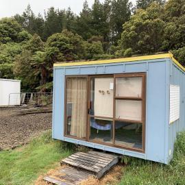 Volunteer lodging at kiwi sanctuary