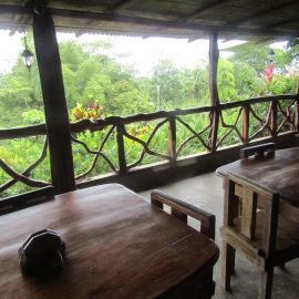 Volunteer living area in Costa Rica