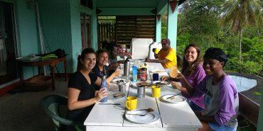Breakfast time in Grenada