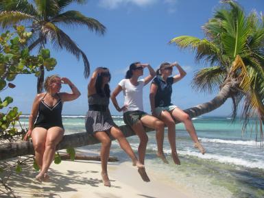 Volunteers on Sandy Island Caribbean Work Grenada | Leatherback Sea Turtle Volunteer | Working Abroad