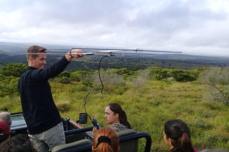 Telemetry track at Kariega Game reserve