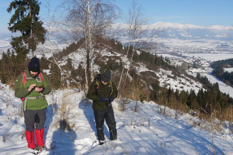 Volunteers tracking wolves in Slovakia