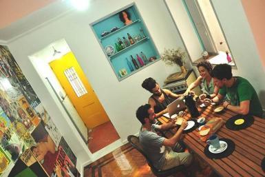 Dinning room hostel