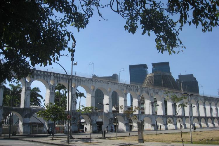 Lapa neighbourhood in Rio de Janeiro