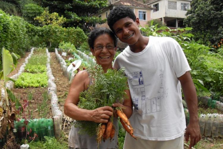 Community garden locals