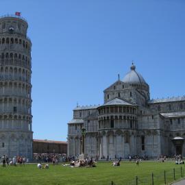 Pisa square in Italy