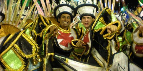 Volunteers at carnival
