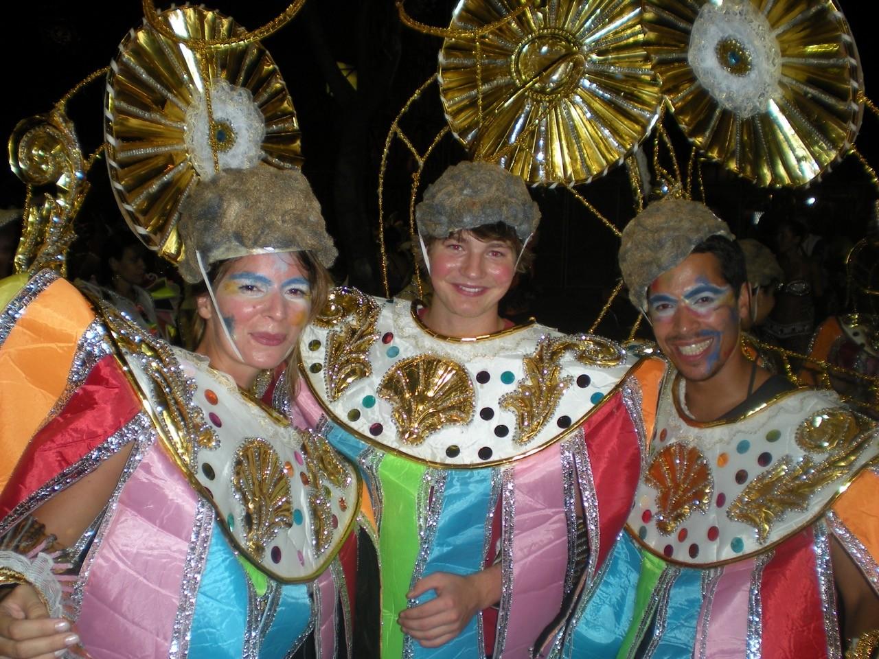 Volunteers part of carnival
