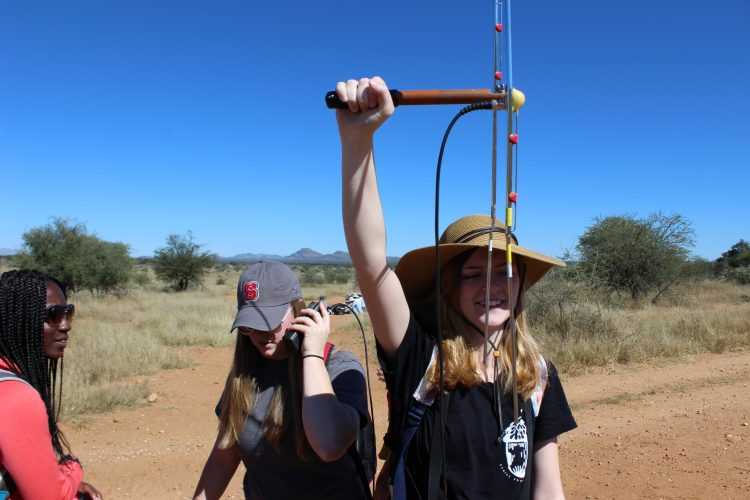 Telemetry tracking of carnivores of Namibia