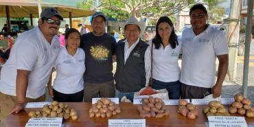 Food festival in Galapagos