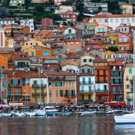 Seaside town in Italy