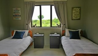 Bedroom at volunteer house in Kariega
