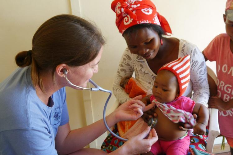 Medical volunteering in Namibia