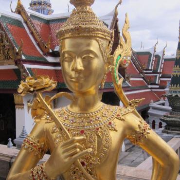 Gold statue in Bangkok