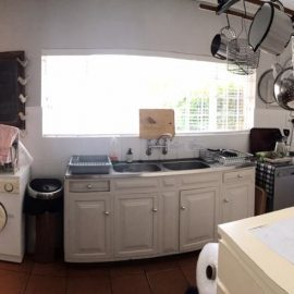 Volunteer house kitchen