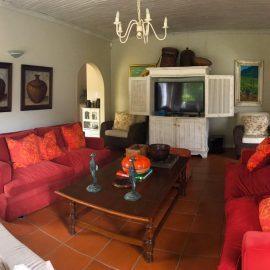 Volunteer house living area