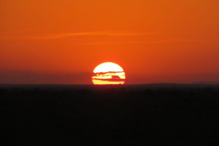 Sunset at Limpopo Lipadi